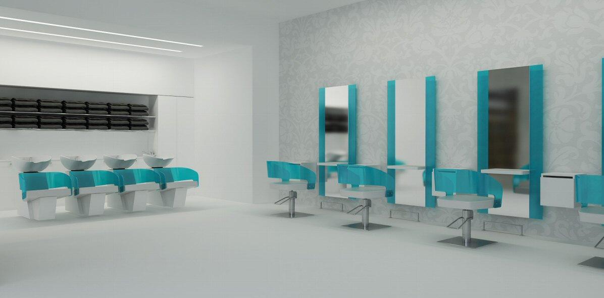 Line Vision   FLUOO   Furniture For Hairdressing Salons